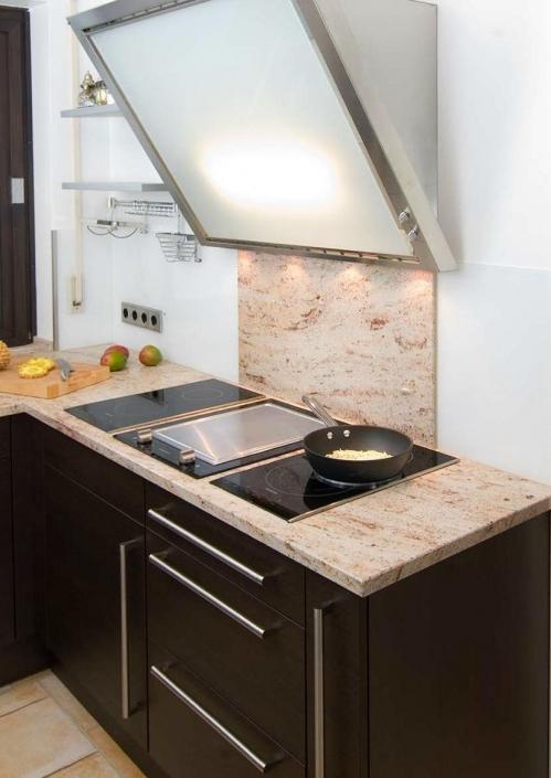 Ivory Brown Küche