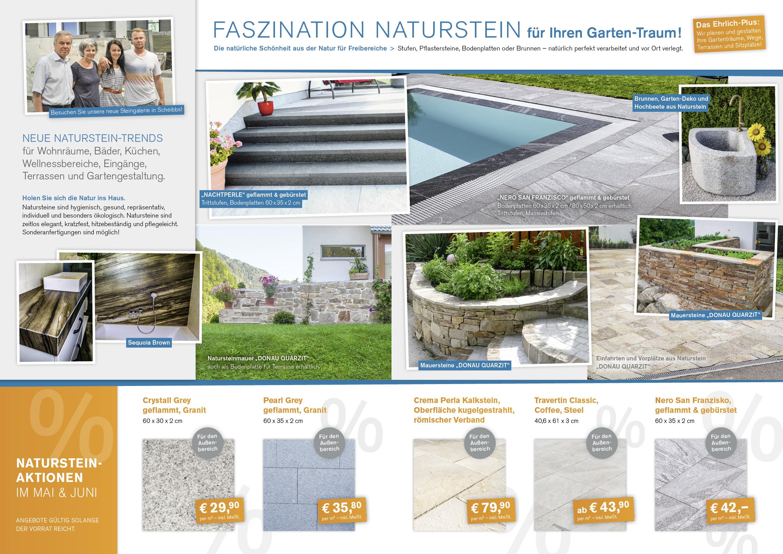 Ehrlich Flugblatte A4 Naturstein Innenseite