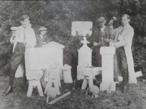 Ehrlich Vincenc 1954 (2. von rechts)