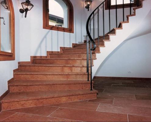 Stufen innen