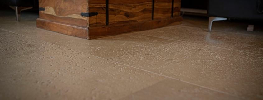 Travertine Boden
